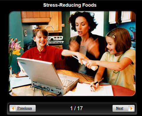 Diet for Stress Management Pictures Slideshow: Stress-Reducing Foods