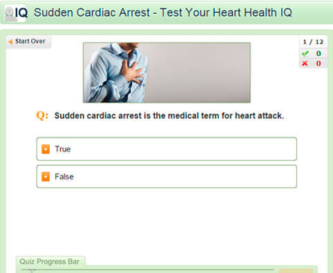 Sudden Cardiac Arrest - Test Your Heart Health IQ