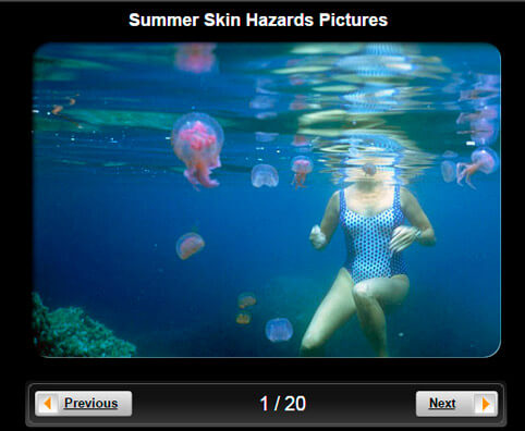 Skin Pictures Slideshow: Summer Skin Hazards