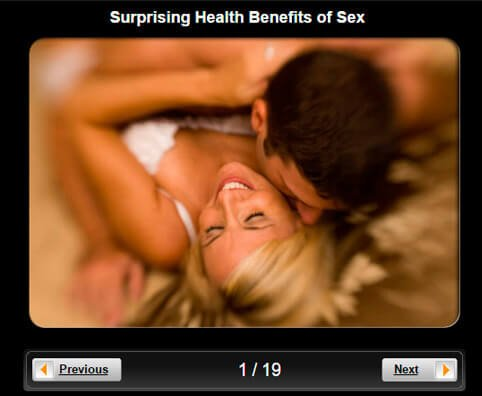 Sexual Health Pictures Slideshow: Surprising Health Benefits of Sex