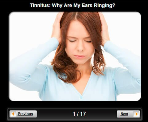 Tinnitus Pictures Slideshow: Why Are My Ears Ringing?