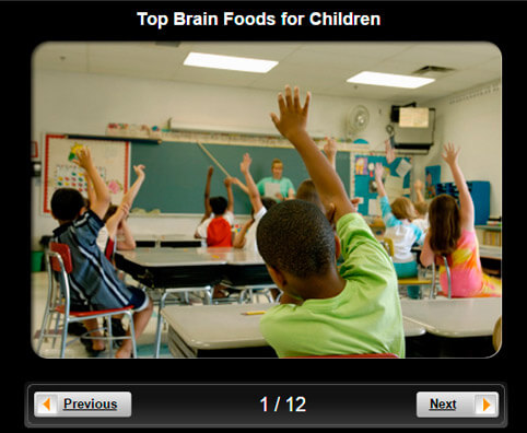 Children's Health Pictures Slideshow: Top 10 Brain Foods for Children