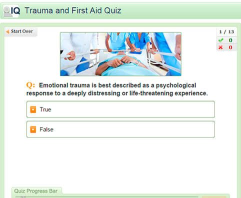 Trauma and First Aid Quiz: Test Your Medical IQ