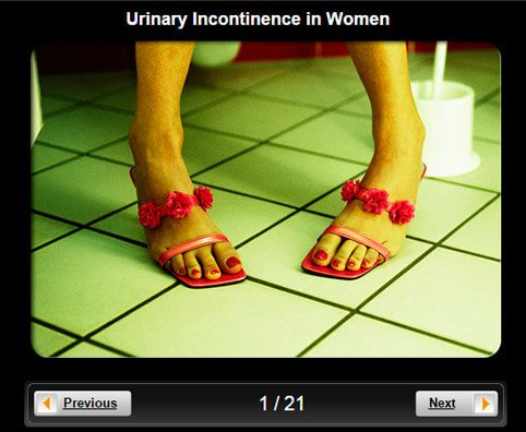 Urinary Incontinence in Women Pictures Slideshow