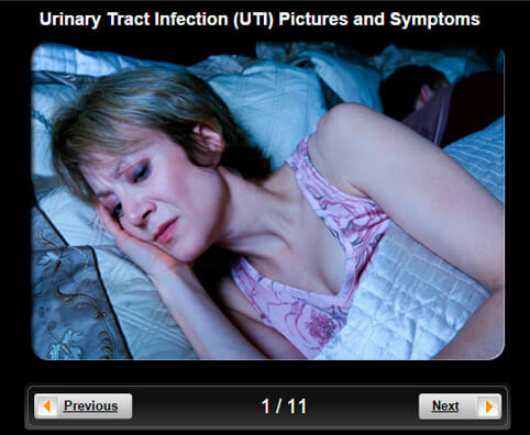 Urinary Tract Infection (UTI) Symptoms Pictures Slideshow