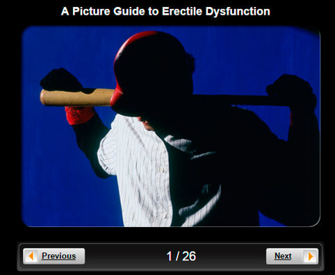 Impotence Pictures Slideshow: A Visual Guide to Erectile Dysfunction