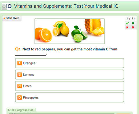 Vitamins and Supplements: Test Your Medical IQ