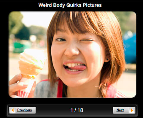 Weird Body Quirks Pictures Slideshow