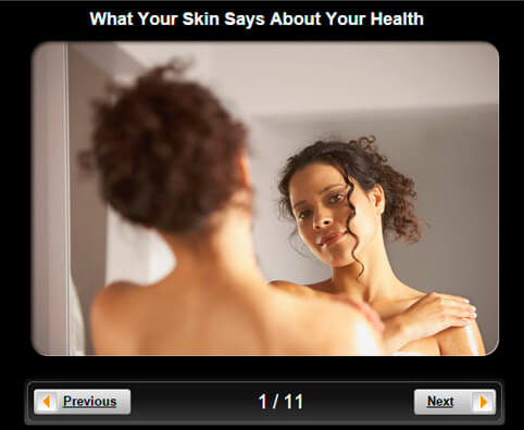 Skin & Health Pictures Slideshow: What Your Skin Says About Your Health