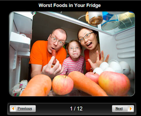 Healthy Eating Pictures Slideshow: The 10 Worst Foods in Your Fridge