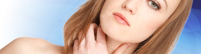 Picture: Thyroid cancer affects the gland in front of the neck that produces thyroid hormone which regulated metabolism of the body. 