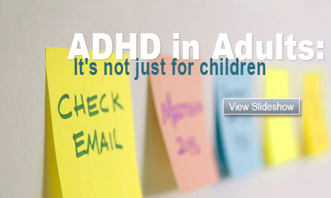 ADHD in Adults: It's not just for children