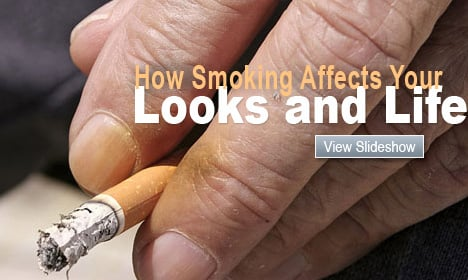 How Smoking Affects Your Looks and Life