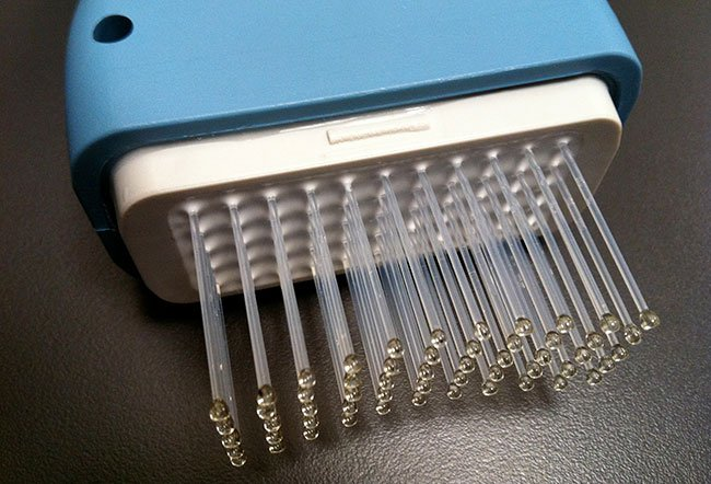Picture of Low Level Light Therapy (LLLT) Laser Comb.