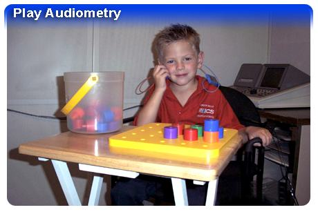 Play Audiometry Photo - Hearing Loss in Children