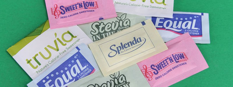 Artificial sweeteners.