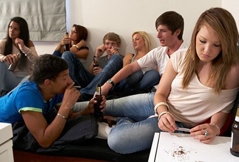 Teens working drugs amp alcohol use