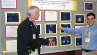 Dr. Shiel  on the left at the 2001 Annual Scientifc Meeting Of The American College Of Rheumatology
