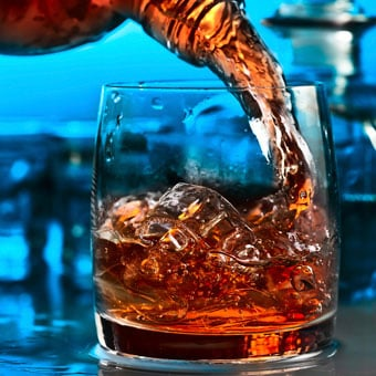 Alcoholic beverages primarily consist of water, alcohol (ethanol), and different amounts of sugar.