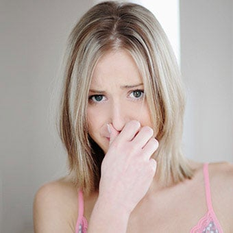 Symptoms of bacterial vaginosis are a foul-smelling vaginal odor (fishy) discharge.