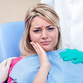 Dry sockets are a common complication following the removal of a tooth.