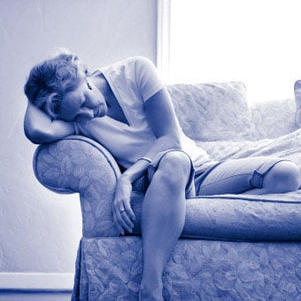 Fatigue is a common symptom of rheumatoid arthritis (RA).