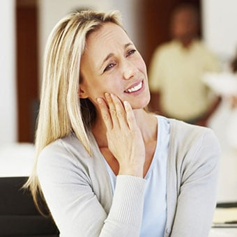 A toothache is the most common symptom indicating the need of a root canal.