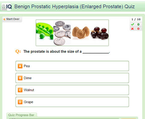 Benign Prostatic Hyperplasia Quiz: Test Your BPH IQ