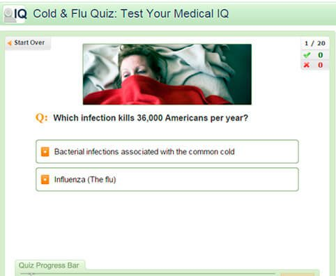 Cold & Flu Quiz: Test Your Medical IQ