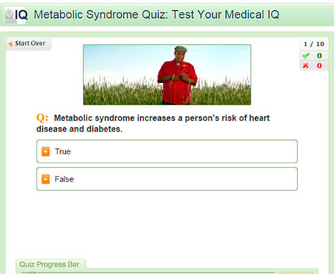 Metabolic Syndrome Quiz: Test Your Medical IQ
