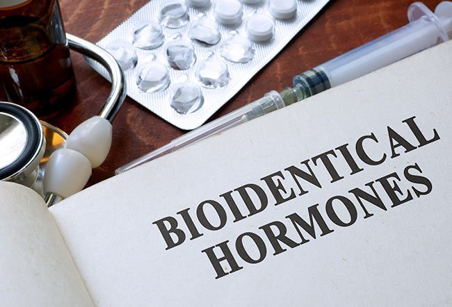 """Bioidentical hormones are often promoted as """"natural"""" or """"chemical free"""" hormones, and the implication is that they are safer than FDA-approved hormone medications, but their potency, quality, and purity are not guaranteed.Bioidentical hormones are not FDA approved, and theirlong-term effects are unknown."""