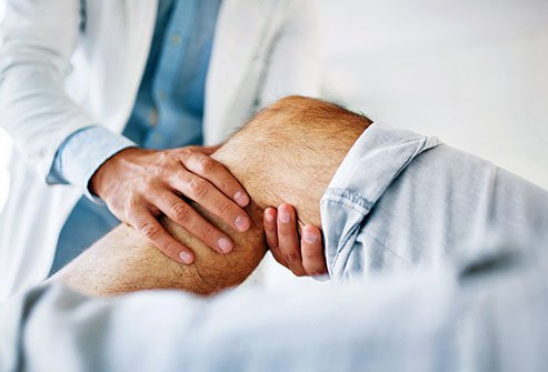 A Baker's (popliteal) cyst is a fluid-filled cyst on the back of the knee.
