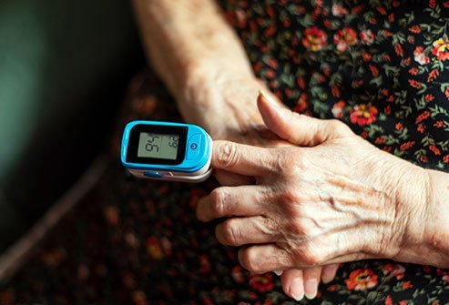 Blood oxygen levels can also be measured using an instrument known as a pulse oximeter.