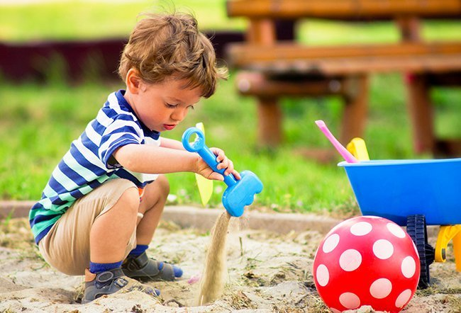 outdoor play supports children's learning