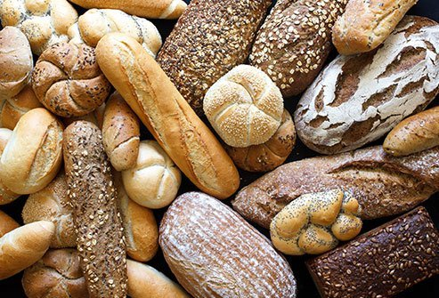 Gluten is the protein in flour found in many baked foods.