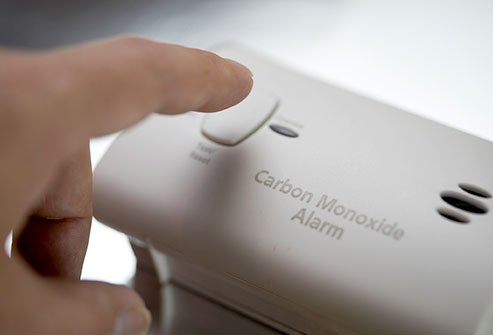 Carbon monoxide (CO) poisoning can be caused by exposure to fumes from burning fuel in motor vehicles, small engines, stoves, grills, gas ranges, lanterns, fireplaces, or furnaces. Carbon dioxide (CO2) poisoning can be caused by many conditions, including sedative overdose (e.g., narcotics or benzodiazepines), encephalitis, major stroke, central and obstructive sleep apnea, primary and central alveolar hypoventilation syndromes, brainstem disease, metabolic alkalosis, hypothyroidism, hypothermia, smoking or sedentary lifestyle, overweight/obesity, and others.