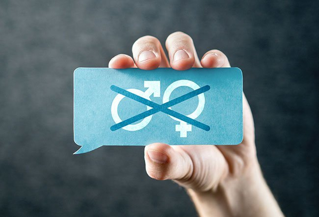 The four genders are masculine, feminine, neuter and common.