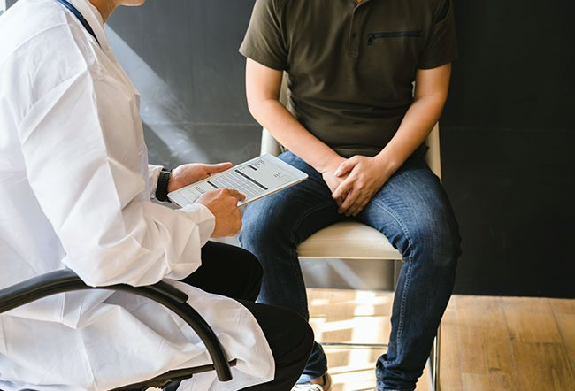 Some men experience erectile dysfunction (ED), which is the inability to get or maintain an erection. When they want to seek medical help in this area, they can see a urologist. Urologists are specialists in disorders of the urinary tract and the male reproductive system, and they can treat erectile dysfunction.