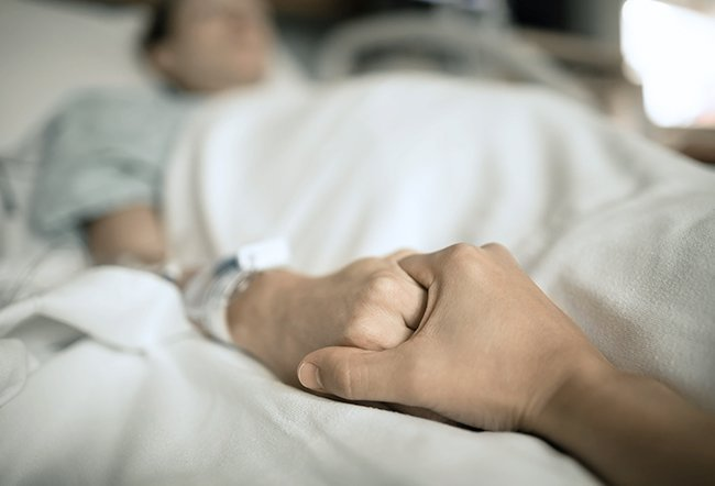 A conscious dying person may know that they are dying. They may exhibit certain signs when near the end of their life.