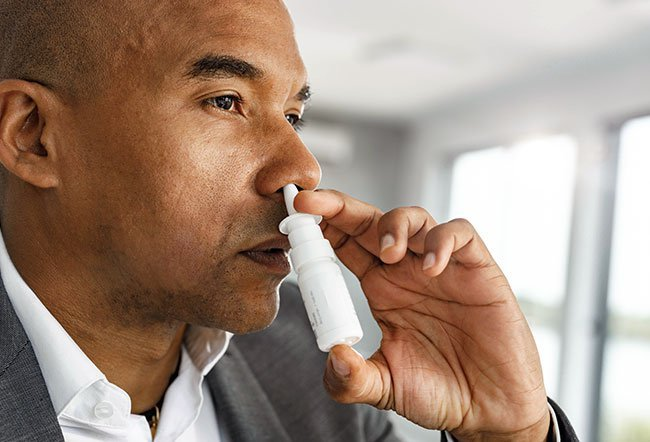 A deviated septum does not always need treatment. In patients who have a badly deviated septum, a surgery called a septoplasty is used to straighten a crooked septum. Nasal sprays do not help a deviated septum.
