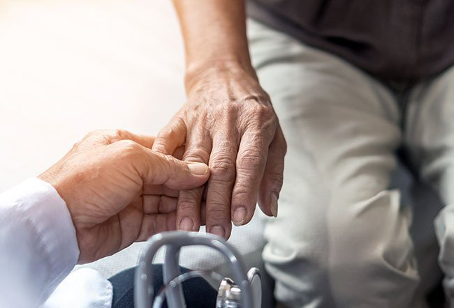 There are more than 100 different types of arthritis, but RA commonly affects the fingers.