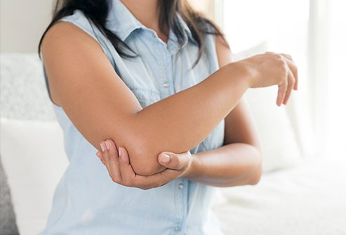 Elbow pain may have a number of causes.