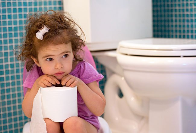 Most kids with encopresis also have constipation.