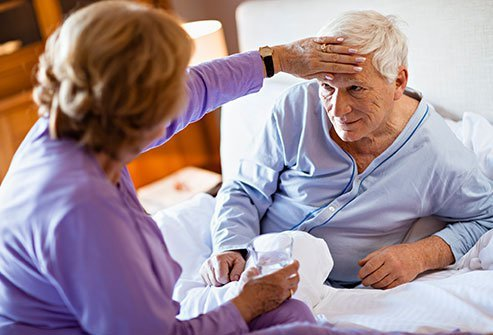 The flu in seniors will last about a week, while others may be affected for much longer. In severe cases, it can lead to death.