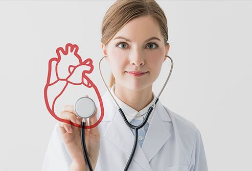 Using a stethoscope to assess different sounds the heart makes is an important diagnostic tool.