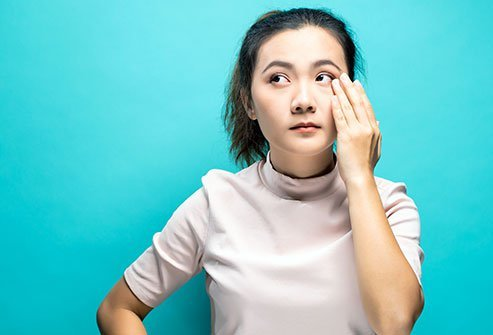 Eye twitch (blepharospasm) is usually harmless. If it's not caused by an underlying condition, more rest and avoiding caffeine, alcohol and stress may help the twitch go away.