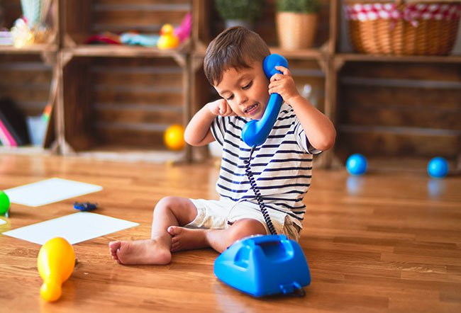 Babies develop communication skills at an amazing speed during the first three years of their life. Improve your toddler's vocabulary by taking your child to the library, reading aloud to them, practicing rhymes, talking with your child and not overwhelming them by using too many words.