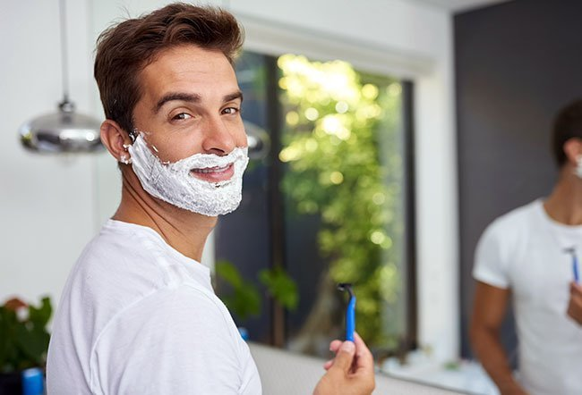 how to get a perfect shave