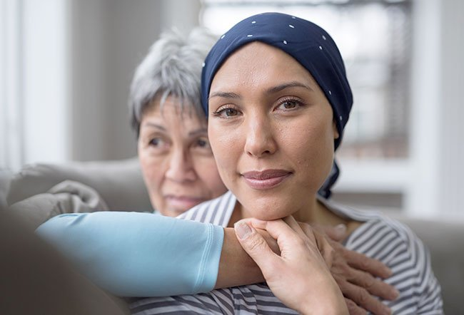 When a loved one is diagnosed with cancer, it can be difficult to talk to them in a way that conveys the support and care you feel for them while being sensitive to the fear and uncertainty the person with the disease is feeling.