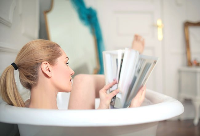 A sitz bath is a warm, shallow bath that is used to cleanse the perineum.
